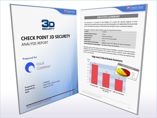 Check Point 3D Security Analysis Report Tool