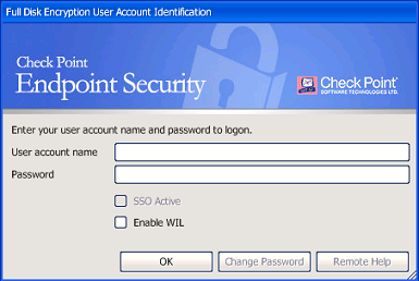 Check Point Endpoint Security Full Disk Encryption