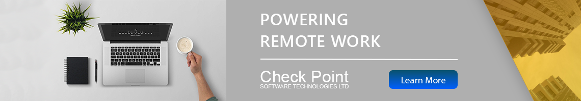 Check Point Powering Remote Work